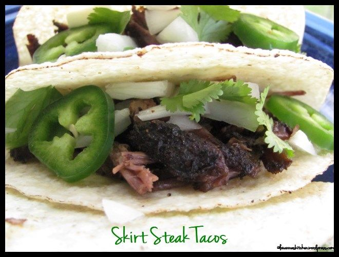 Slow Cooker Skirt Steak Tacos | Let's Eat...Tex-Mex and Mexican | Pin ...