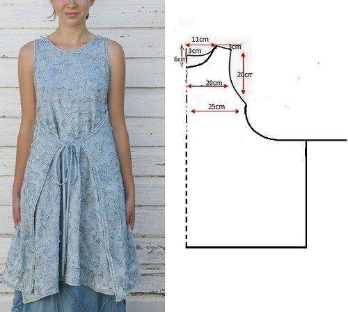 Как сшить платье в стиле бохо своими руками быстро и без выкройки быстро 12