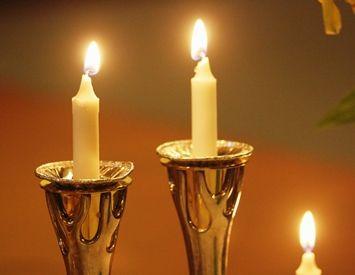 our shabbat candles shabbat pinterest