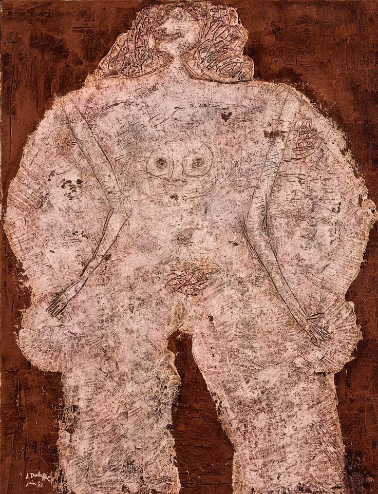 Jean Dubuffet- Corps de dame