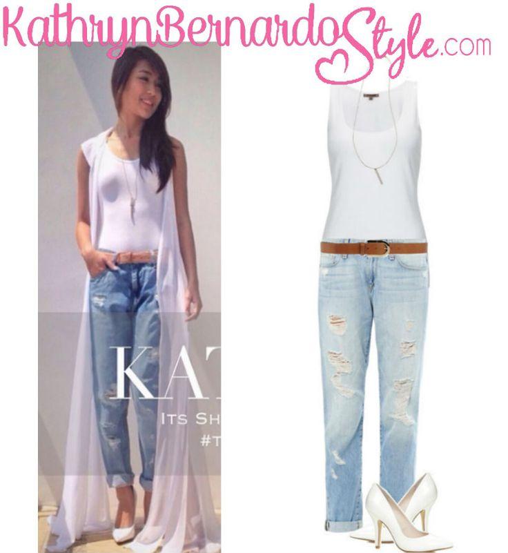 The Gallery For Kathryn Bernardo Wearing Dress