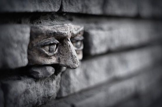 "Street Art ""Another brick in the wall"" -Gorzow, Poland"