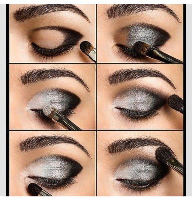 Step by step Smokey eye tutorial   Make-up   Pinterest