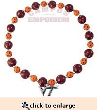 VT Polka Dot Beaded Necklace