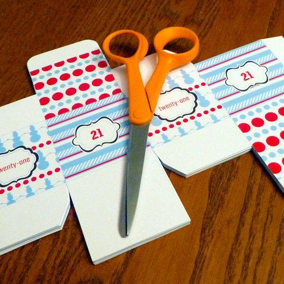 Advent Calendar Diy Template : Pin by jocelyn lee on crafty pinterest