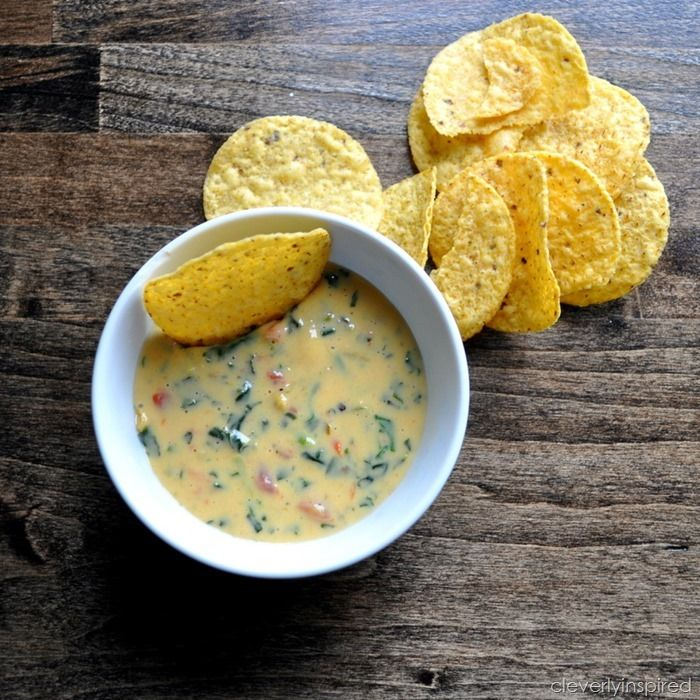 queso dip recipe from @Cleverlyinspired | Food | Pinterest