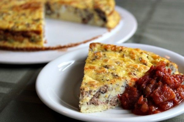 Easy Sausage & Summer Squash Frittata with 4-ingredient breakfast ...