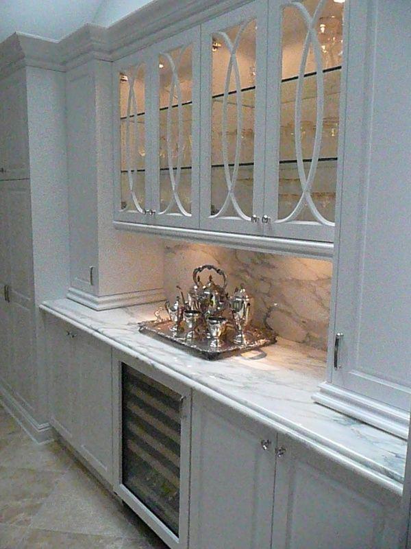 Custom butler pantry design kitchen bathroom decor for Butler kitchen designs
