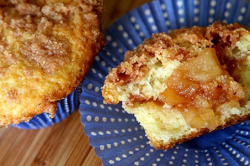 Apple Pie Muffins with Cinnamon Streusel | Cupcakes and Muffins | Pin ...