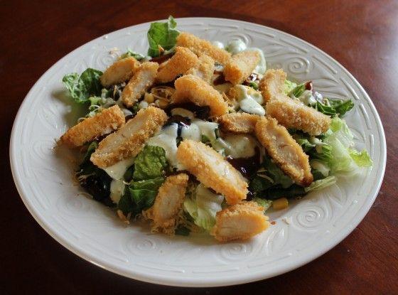 BBQ Ranch Chicken Salad | Recipe