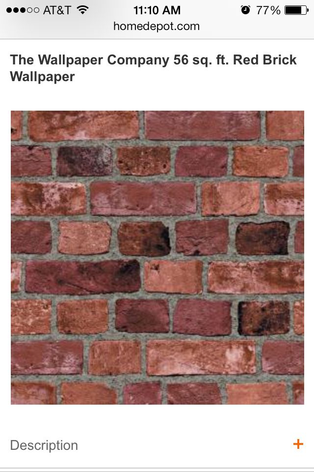 brick wallpaper home depot submited images