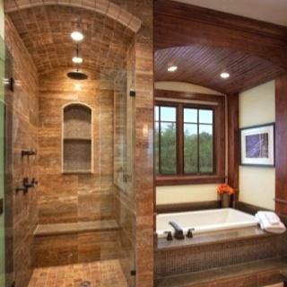 Bathroom on Master Bathroom   Bathtub