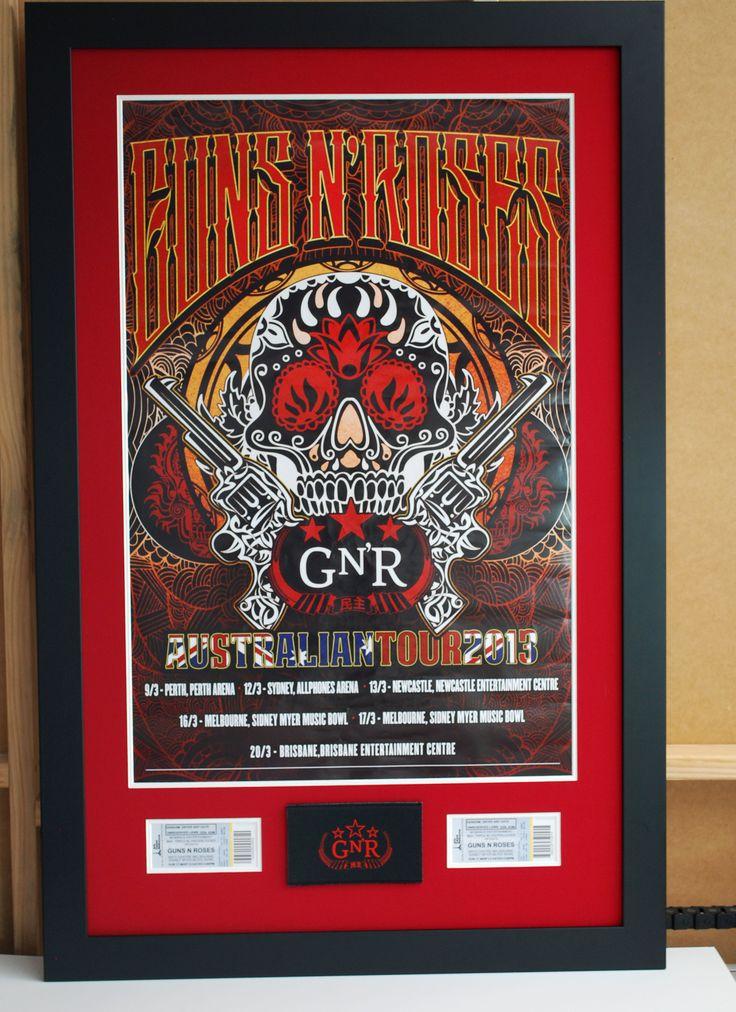 Posters framed
