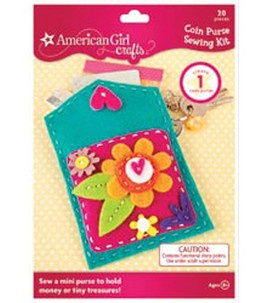 American Girl Sewing Kit - Coin Purse
