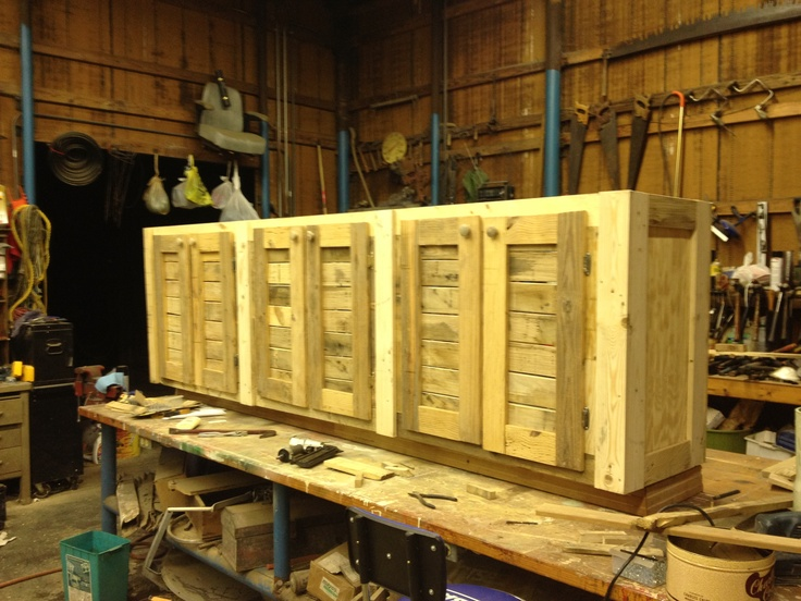 Cabinets made from pallets personal projects ideas - Cabinets made from pallets ...
