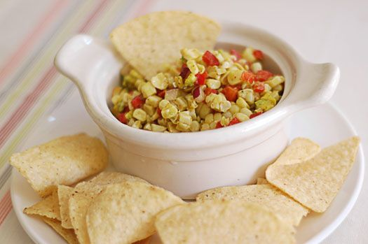 Avocado and Corn Salsa | Vegan Food | Pinterest