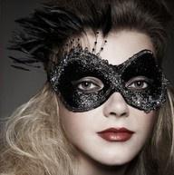 black gem mask