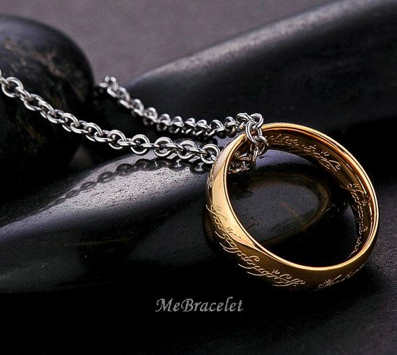 the one ring lord of the rings charm jewelry