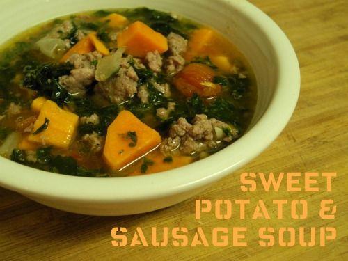 Sweet Potato Soup | recipes | Pinterest