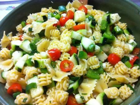 Moms Pasta Salad | Yummy | Pinterest