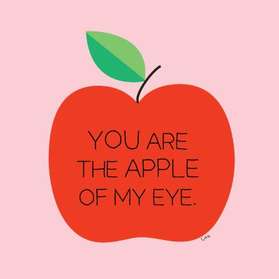 The apple of my eye | Bebis | Pinterest