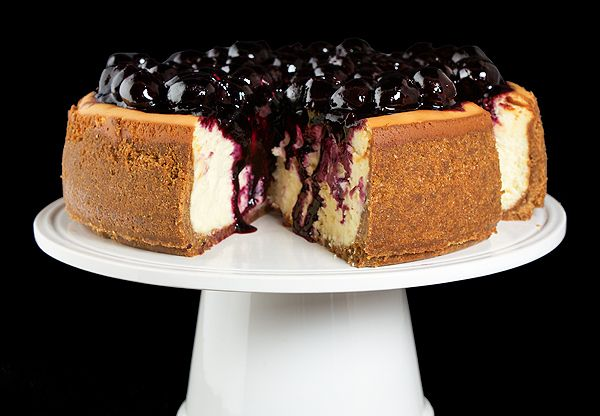 ... York Cheesecake with Cherry Topping -- I didn't make the topping