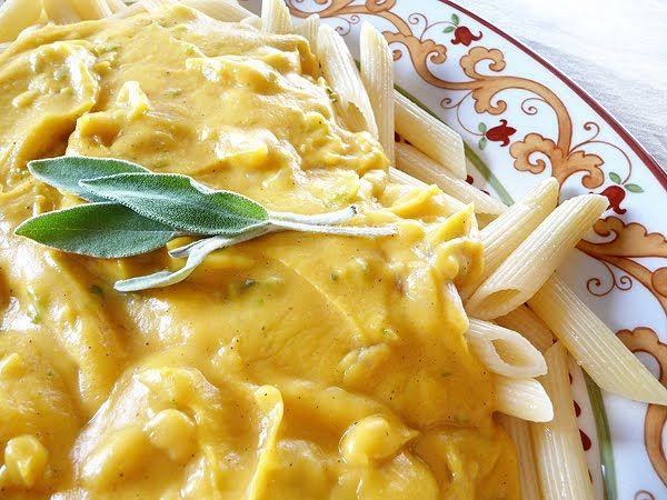 Pasta with Butternut Parmesan Sauce | Pasta with Creamy Sauce | Pinte ...