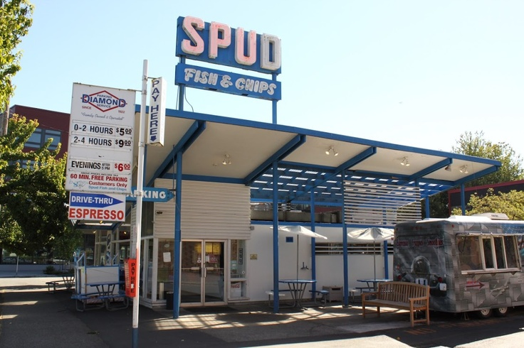 Spud fish chip green lake seattle cities seattle for Best fish and chips in seattle