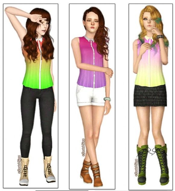 pin by xara sims on sims 3 clothing pinterest