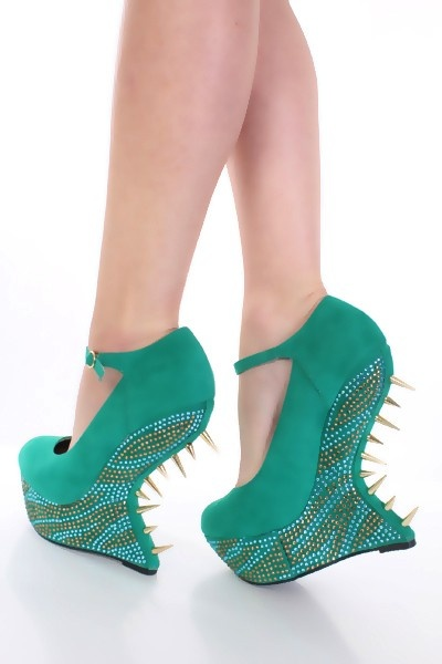 Okay. These are just crazy. How do you walk in these