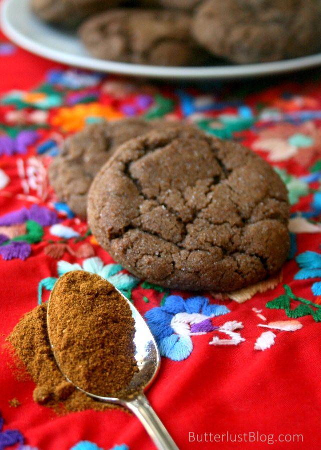 Mexican Hot Chocolate Cookies | ~ Eat Me ~ Sweet Stuff | Pinterest