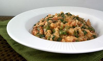 Tomato & Sausage Risotto | Recipe