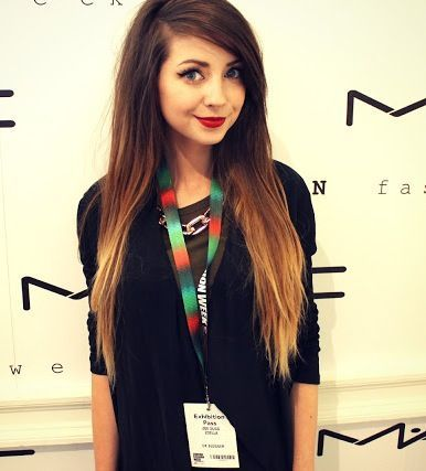 Zoella - hair obsessionZoella Ombre Hair Straight