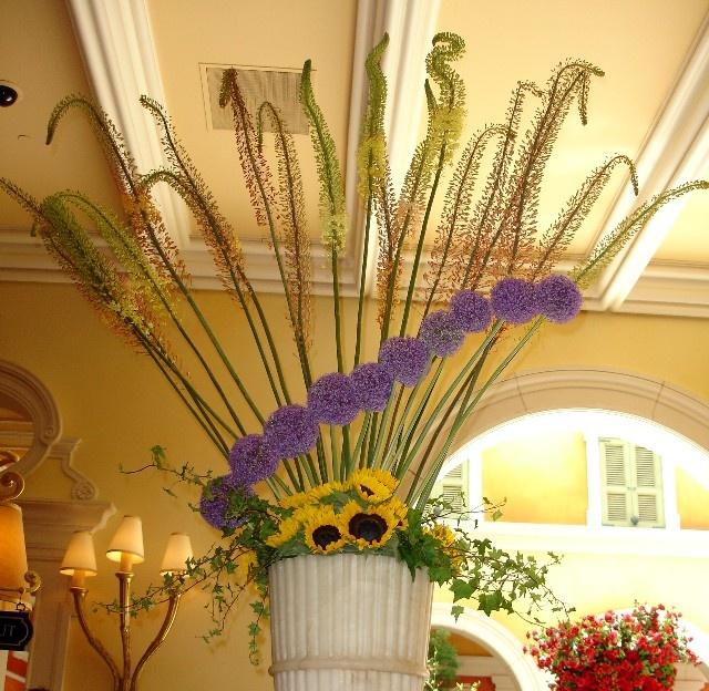 Bellagio las vegas flower arrangement hotel flowers