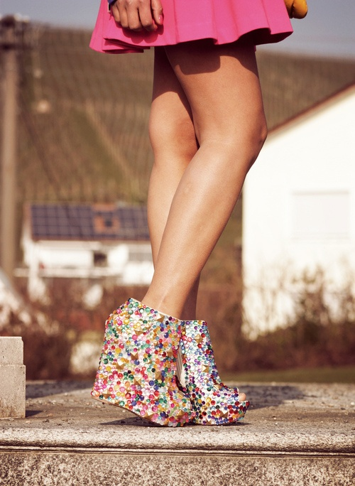 Sparkly & colorful, cannot go wrong.