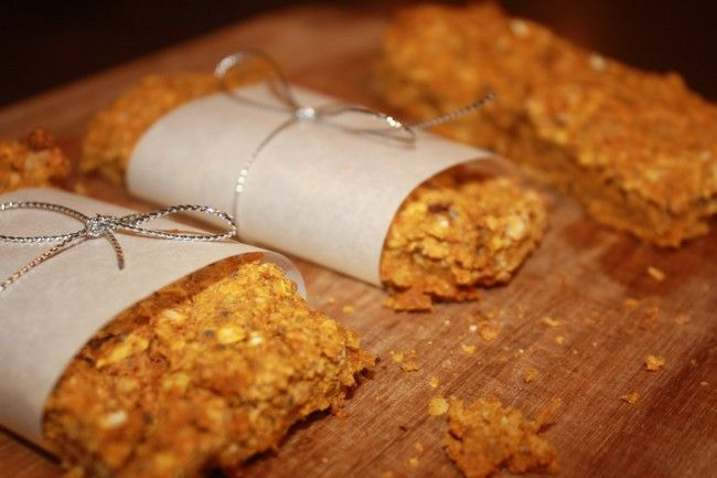 Pumpkin Chocolate Chip Granola Bars | Lauren Kelly Nutrition http ...