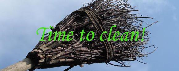 Tijd voor een spirituele voorjaarsschoonmaak!