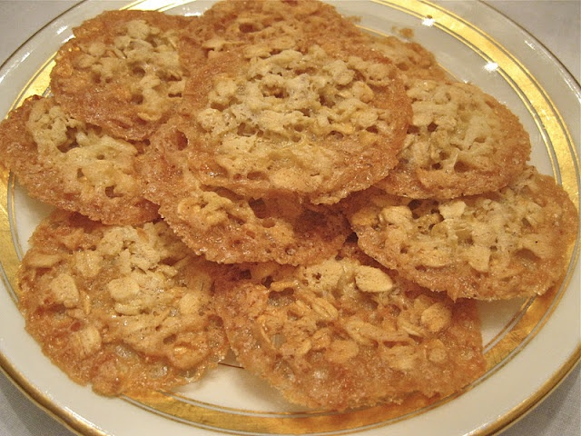 Flourless Oatmeal Lace Cookies | Cookies | Pinterest