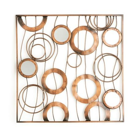 The Statement Wall Spiral Metal Wall Art Contemporary