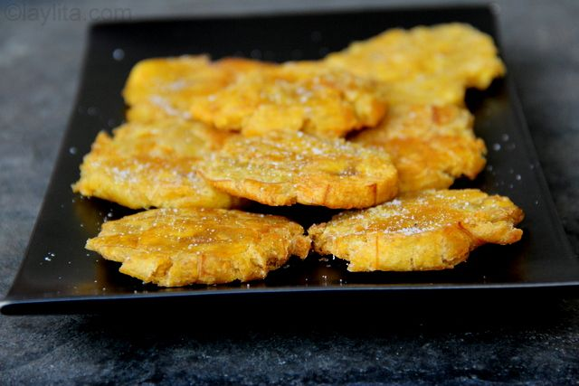 or thick fried green plantains recipe | Laylita's recipes (fry ...