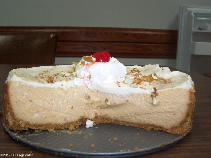 Sweet Potato Cheesecake | Cheesecakes | Pinterest