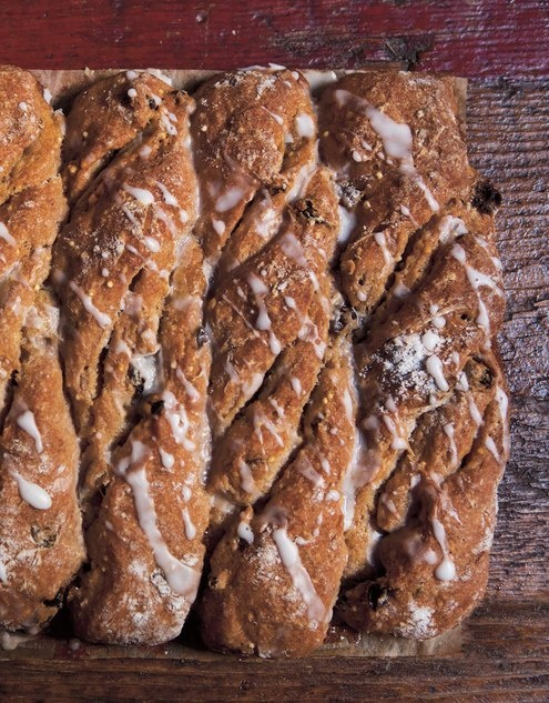 Cinnamon Raisin Bread Twists - Easy Eats - September/October 2012 ...