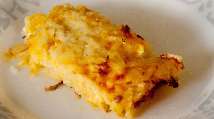 Take-out Fake-out: Cracker Barrel's Hash Brown Casserole | Recipe