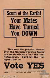 conscription in australia ww1 essay