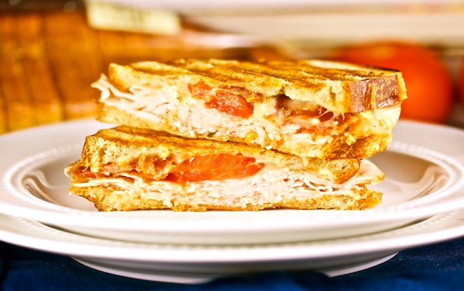 turkey amp tomato potluck panini subscribe to our healthy amp ...