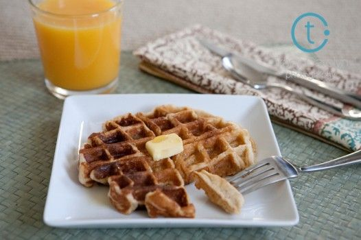 Honey Yogurt Waffles | Recipes to Try - Breakfast | Pinterest