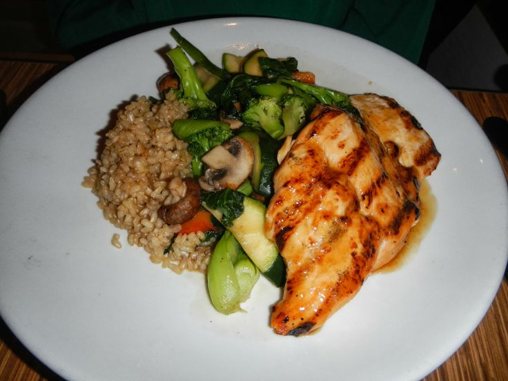 Teriyaki Grilled Chicken With Baby Bok Choy And Carrots Recipe ...