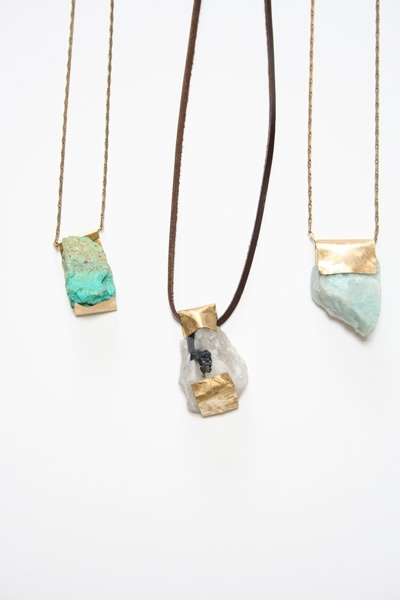 Mineral Necklaces from Beklina