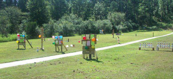 Setting Up Backyard Archery Range : Firing range picture  making life easier  Pinterest