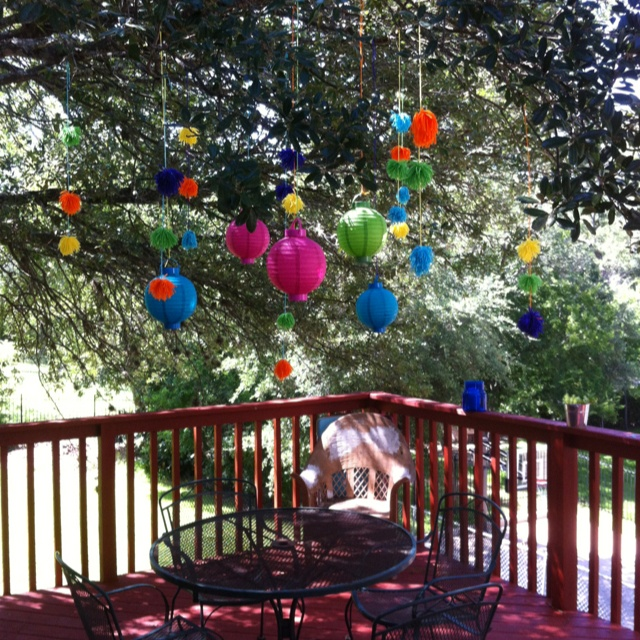 Centerpieces For Outdoor Graduation Party : Outdoor party decorations  parties  entertaining  Pinterest